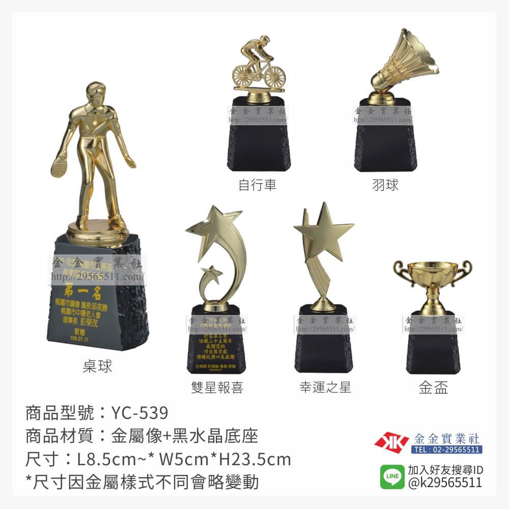 水晶獎座 YC-539